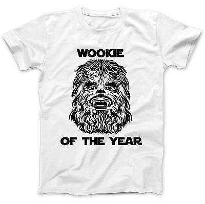 cbf7215af Wookie Of The Year Funny T-Shirt 100% Premium Cotton Humour Gift Present