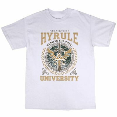 Hyrule University T-Shirt Cotton