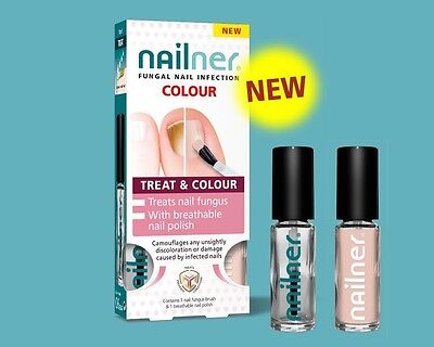 Nailner Fungal Nail Infection Colour - Treat & Colour - Brand New & Boxed