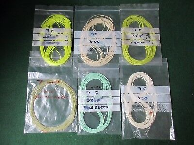 6 Fly lines
