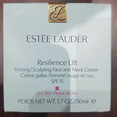 Estee Lauder Resilience Lift Firming Face and neck cream SPF15 Dry Skin 50ml