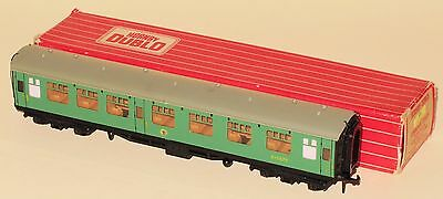 Hornby Dublo #4054 BR 1st/2nd Class Coach WITH #4205 EXPORT ISSUE BOX NEAR MINT