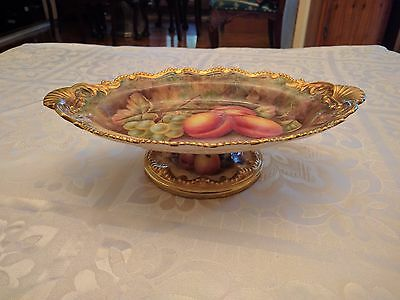 Royal Worcester  Plate signed hand painted fruit by H price