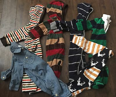 Lot Of Baby Boy One Piece Sets Baby Gap 6-12 M