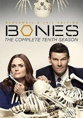Bones: The Complete Tenth Season (DVD, 2015, 6-Disc Set) Brand New