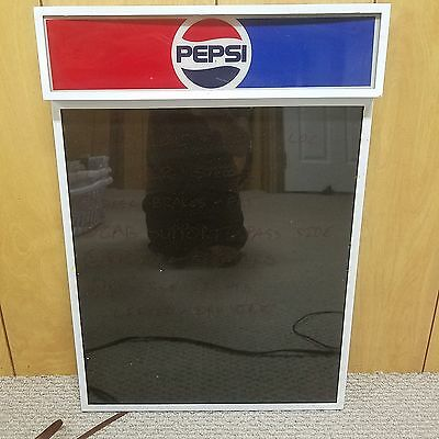 Pepsi Neon Message Writer lighted sign - good condition