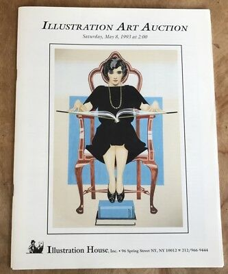 Illustration House  Art Auction Catalog May 1993 Coles Phillips Cv W/prices List