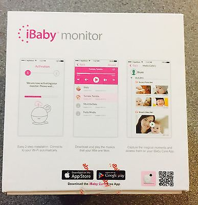 NEW & SEALED! iBaby M6 Wireless Digital Video Camera Baby Monitor Night Vision