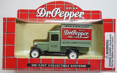 Dr Pepper Die-Cast Toy : Drink A Bite To Eat : Delivery Truck