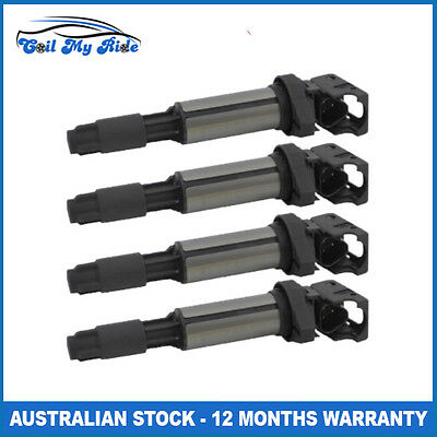 Set of 4 Ignition Coil for BMW 116i 118i 120i 316i 316ti 318i 318is 320i X1 i4