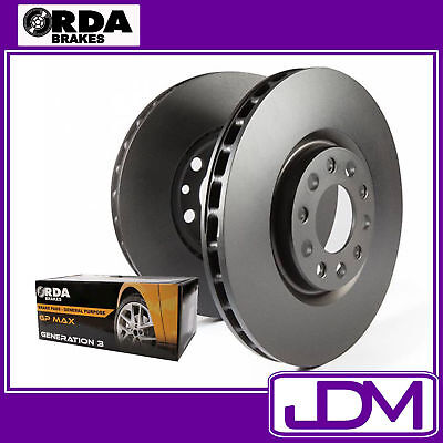 Ford Falcon BA, BF, XR6, XR8 - RDA Front Brake Discs & Pads