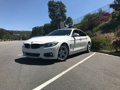 2015 BMW 4-Series Grand Coupe 2015 BMW 428i Grand Coupe M Sport package add-ons SUPER CLEAN