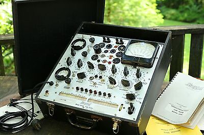Hickok 539C tube tester original working from 1963 with manuals