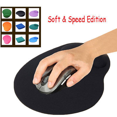 Comfort Wrist Support Mat Mouse Mice Pad for Computer PC Laptop Wrist Rest Softs