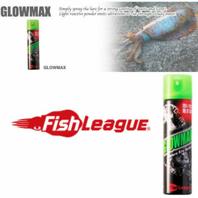 Fish League GLOWMAX Glow Max Squid Attractant Scent Spray - Squid Lure Spray