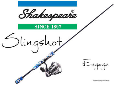 Shakespeare Slingshot Engage Spin Fishing Rod Combo 7' 2pc 6-10kg / 50Z Reel