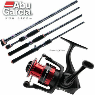 ABU GARCIA Salty Fighter 7' 6-10kg / Black Max 40 Spin Fishing Rod & Reel Combo