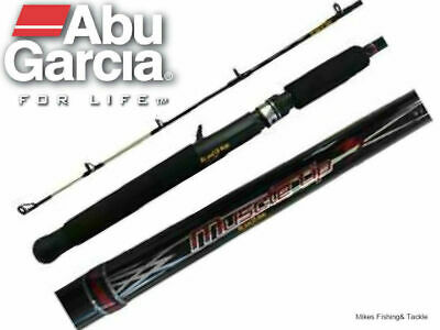 "Abu Garcia 6-10kg Muscle Tip III 6'6"" 1pc Overhead Fishing Rod With Solid Tip"