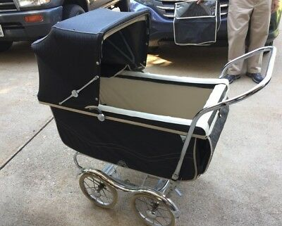 Vintage baby carriage buggy