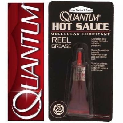 Quantum Hot Sauce Reel Grease - Fishing Reel Maintenance Lubrication Kit