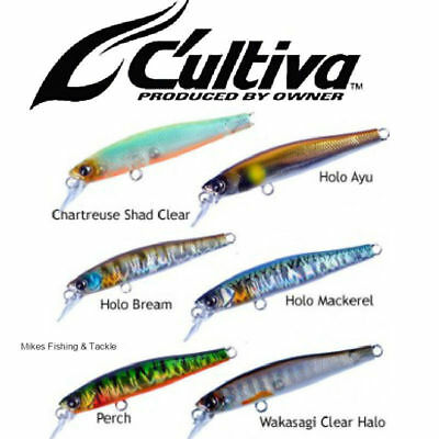 Owner Cultiva CT Minnow Hardbody Fishing Lure 55mm CT55F
