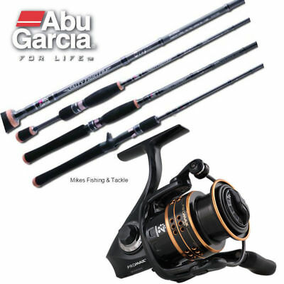 ABU GARCIA Salty Fighter 7' 5-8kg / Pro Max 40 Spin Fishing Rod & Reel Combo