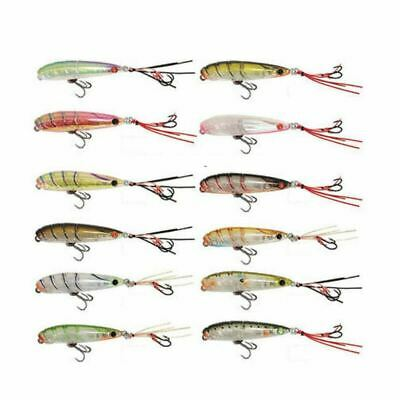 Ecogear PX55F ZX Hooks Hardbody Topwater Fishing Lure Bream Bass Trout PX 55F