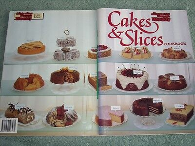 Aust Womens Weekly Cookbook Cakes And Slices Recipes Master Chef Cooking