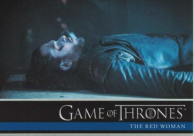 Game of Thrones Season 6 Trading Card Set (100 Cards) + Promo P1
