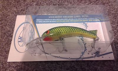 Aussie made timber 100mm diving lure for Murray cod, yellowbelly, etc