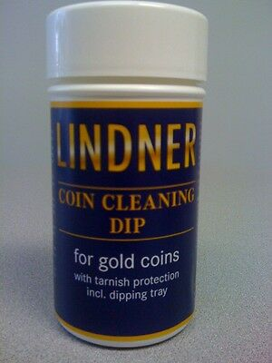 Gold Coins Cleaning Solution Jewelry Cleaner Lindner Precious Metal Dip 375 Mil