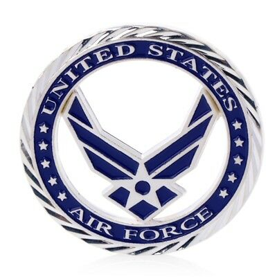 U.S. Air Force Core Values Commemorative Challenge Coin Art Craft Gift Silvery