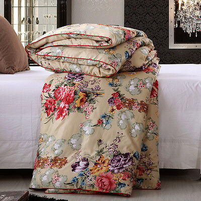 New 100% MulBerry Silk Luxury Quilt Bedding  Set Single Double King Super King