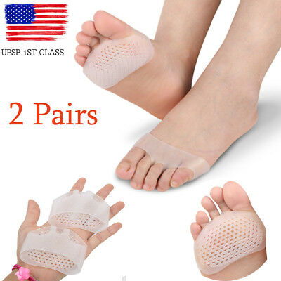 Silicone  Shoe Front Pads High Heel Shoes Half Feet Cushion Insoles Inserts Foot