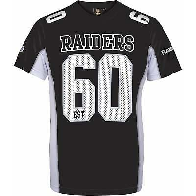 Majestic Athletic NFL Oakland Raiders Moro Poly Mesh T-Shirt