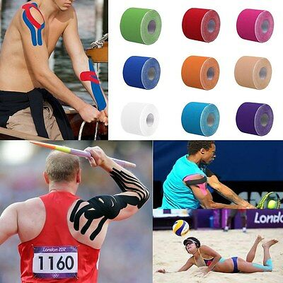 Kinesiology Tape Sports Physio Running Injury Preventio Pain Relief 2-4 Rolls