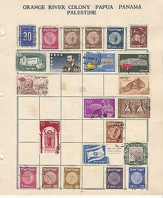 ISRAEL Early Collection On Album page