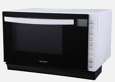 Brand New R67B1W Sharp Microwave Oven Grill Midsize  Flatbed White