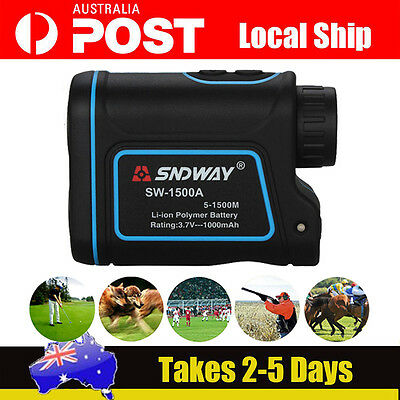 Monocular Laser 1500m Angle Distance 8X Meter Speed Measurer For Athletics LOCAL