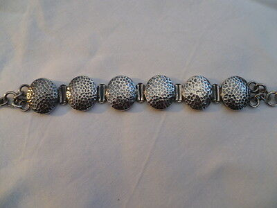 Sterling silver ladies bracelet stamped 925 ,hand made