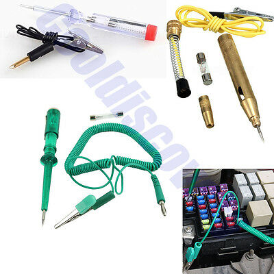 Auto Circuit Tester Test Pencil Light Led Probe Car Motorcycle DC 6V 12V 24V