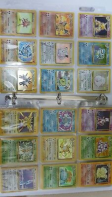 Pokemon Card Base Set Complete - NM Charizard Blastoise Venusuar EXC to NM Lot