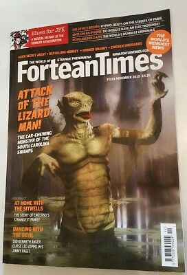 FORTEAN TIMES MAGAZINE ISSUE 333 November 2015