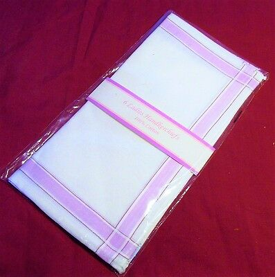 Handkerchiefs, Pack of 6, Every day use,11inch square,100% cotton, Brand New