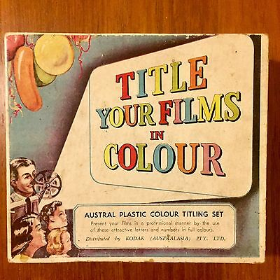Home Cinema Title Kit Retro Original