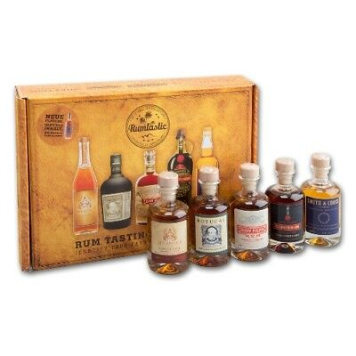 Rum Tasting Set Atlantico, Botucal, Don Papa, Prohibido, Smith je 40ml =200ml