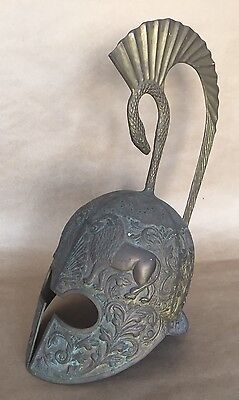 Antique Roman Gladiator Bronze Helmet,Rome 100 B.C.