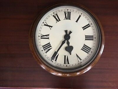 Large Synchronome Slave Factory Office Wall Clock
