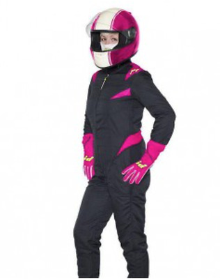 P1 Donna Ladies Womens Girls FIA Approved Nomex Race Rally Speed Sprint Racesuit