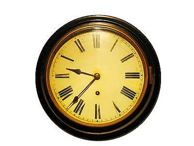 Mid 19c Mahogany Wall Clock, in perfect working order.